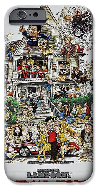 Animal Picture iPhone Cases - Animal House  iPhone Case by Movie Poster Prints