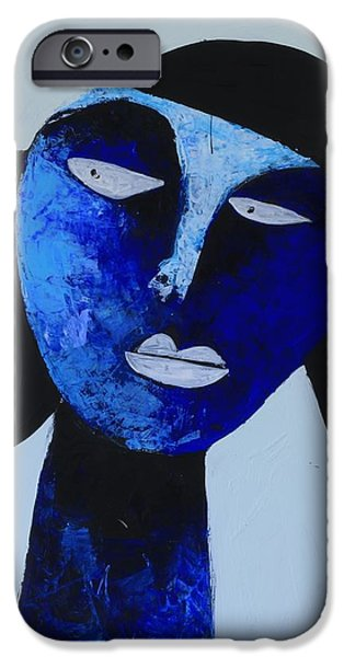 Abstract Expressionist iPhone Cases - ANIMUS No. 81 iPhone Case by Mark M  Mellon
