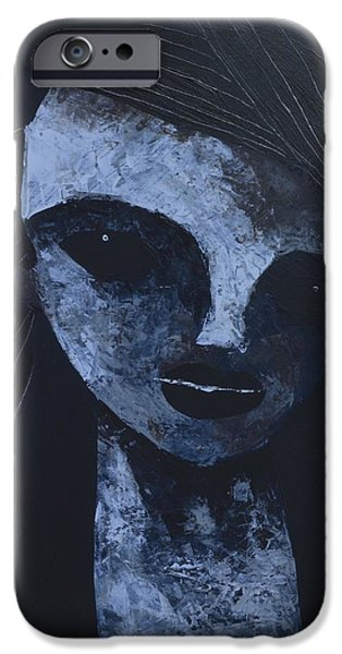 Abstract Expressionist iPhone Cases - ANIMUS No. 85 iPhone Case by Mark M  Mellon