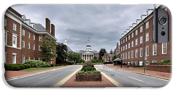 Annapolis Md iPhone Cases - Annapolis Maryland  iPhone Case by Brendan Reals