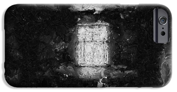 D.c. iPhone Cases - Another Empty Room In My Head M     -  Painting iPhone Case by Sir Josef  Putsche