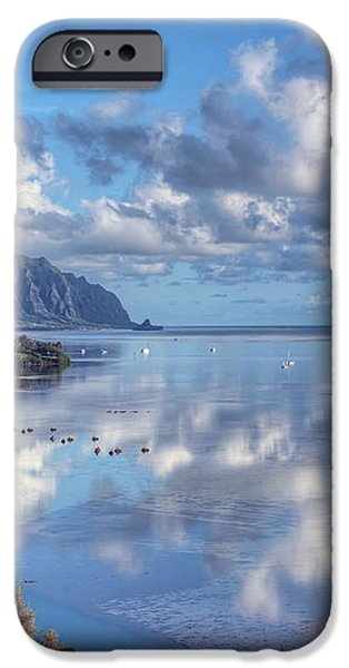 Another Kaneohe Morning iPhone Case by Dan McManus