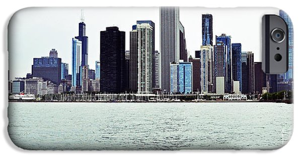 Willis Tower iPhone Cases - Another Perspective of Chicago iPhone Case by Lydia Holly