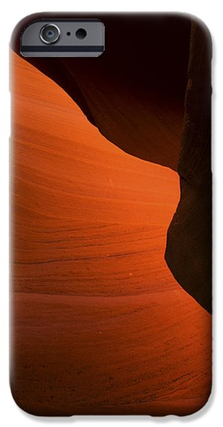 Nation Pyrography iPhone Cases - Antelope Canyon  iPhone Case by Robert Rinsem