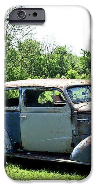 Antique Car 1 iPhone Case by Douglas Barnett