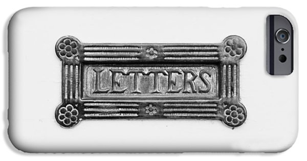 Antiques iPhone Cases - Antique letterbox iPhone Case by Tom Gowanlock