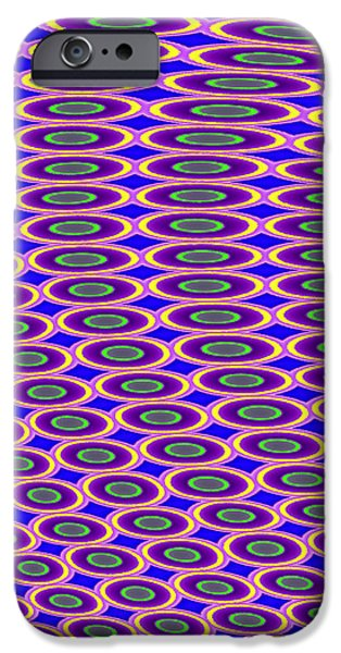 Photographs Tapestries - Textiles iPhone Cases - Anyone Lose a Contact Lens? iPhone Case by Suzi Freeman