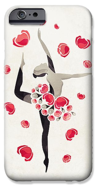 Ballet Dancers iPhone Cases - Applause iPhone Case by VessDSign