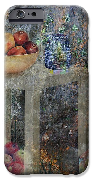 Apple Montage iPhone Case by Arline Wagner