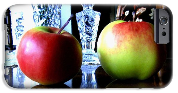 Reflection Harvest iPhone Cases - Apples Still Life iPhone Case by Will Borden