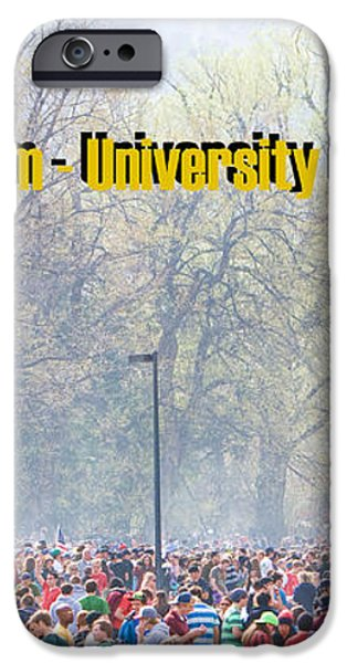 April 20th - University of Colorado Boulder iPhone Case by James BO  Insogna