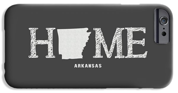 Arkansas iPhone Cases - AR Home iPhone Case by Nancy Ingersoll