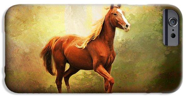 Arabian Horse iPhone Case by Jai Johnson