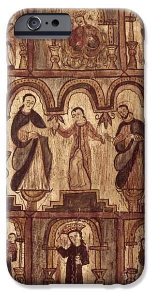Apostle Philip iPhone Cases - Aragon: Jesus & Disciples iPhone Case by Granger