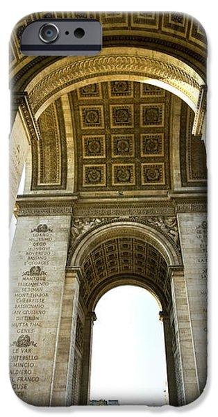 Arc De Triomphe Paris iPhone Case by Charuhas Images