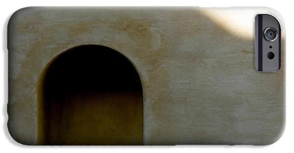 Salzburg iPhone Cases - Arch in Shadow iPhone Case by Dave Bowman