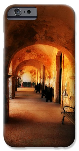 Arched Spanish Hall iPhone Case by Perry Webster