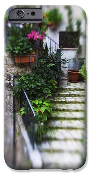 Archway and Stairs iPhone Case by Marilyn Hunt