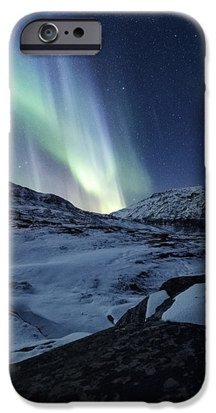 Epic iPhone Cases - Arctic Blue iPhone Case by Tor-Ivar Naess