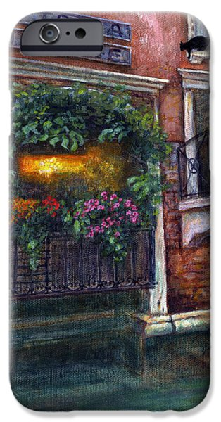 Virtual Paintings iPhone Cases - Are You There My Love? iPhone Case by Retta Stephenson