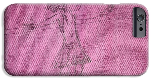 Ballet Dancers iPhone Cases - Ariel iPhone Case by Cindy  Riley