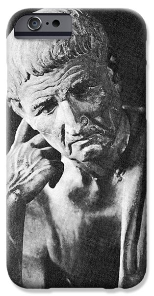 Ponder iPhone Cases - Aristotle, iPhone Case by