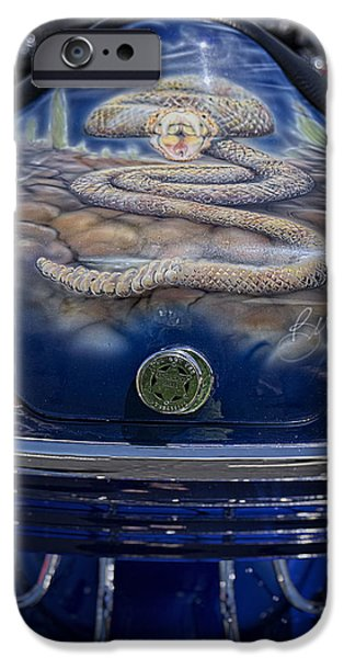 Patriots iPhone Cases - Arizona Diamond-back iPhone Case by Lucinda Walter