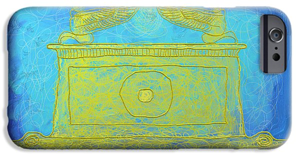 Symbol Of The Soul iPhone Cases - Ark Of The Covenant iPhone Case by Ian Roz