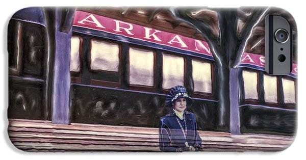 Arkansas iPhone Cases - Arkansas And Missouri Depot iPhone Case by Roy Inman