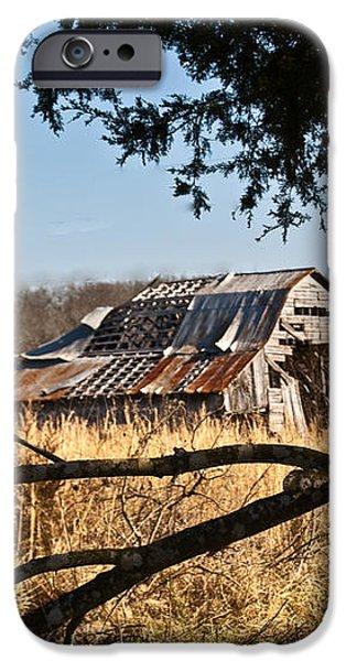 Arkansas Barn 1 iPhone Case by Douglas Barnett
