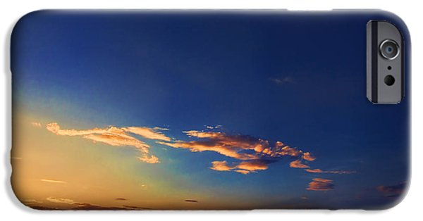 Arkansas iPhone Cases - Arkansas Sunset iPhone Case by Toni Hopper