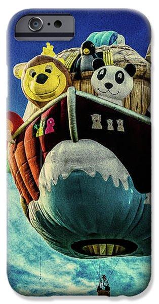 Arky  Noah's Ark iPhone Case by Bob Orsillo