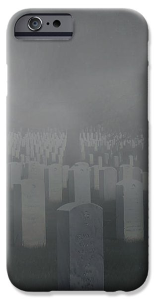 Cemetary iPhone Cases - Arlington iPhone Case by Nicholas Blake Seals