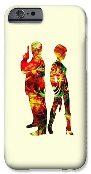 Weapon iPhone Cases - Armed iPhone Case by Anastasiya Malakhova