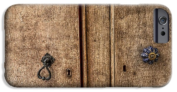 Furniture iPhone Cases - Armoire iPhone Case by Gillian Singleton