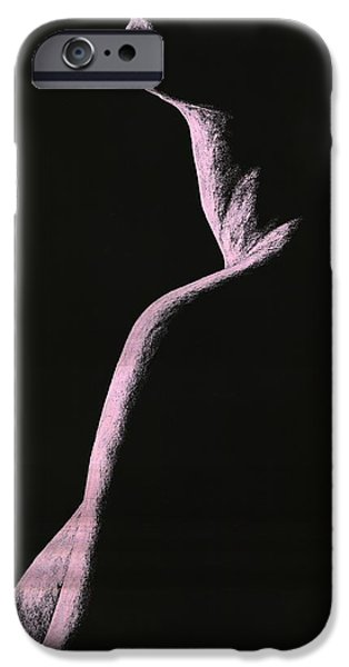 Figure Pastels iPhone Cases - Arrogance iPhone Case by Richard Young