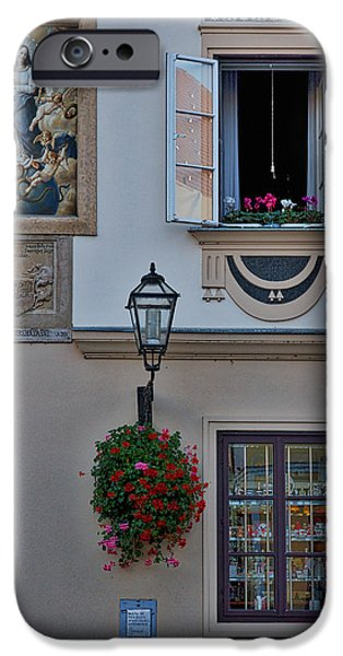 Serpent iPhone Cases - Art on a Facade - Zagreb Croatia iPhone Case by Stuart Litoff