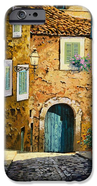 Door iPhone Cases - Arta-Mallorca iPhone Case by Guido Borelli