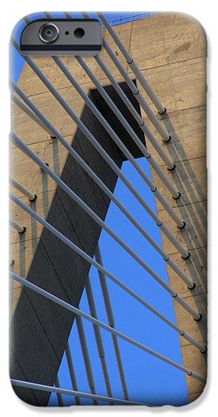 Arthur iPhone Cases - Arthur Ravanel Bridge iPhone Case by Dustin K Ryan