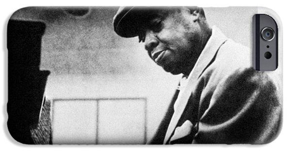 1950s Portraits iPhone Cases - Arthur Tatum (1910-1956) iPhone Case by Granger
