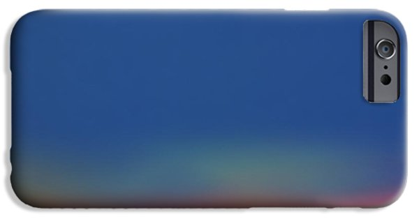Abstractions iPhone Cases - Artificial Sunrise iPhone Case by Jason M Rogers