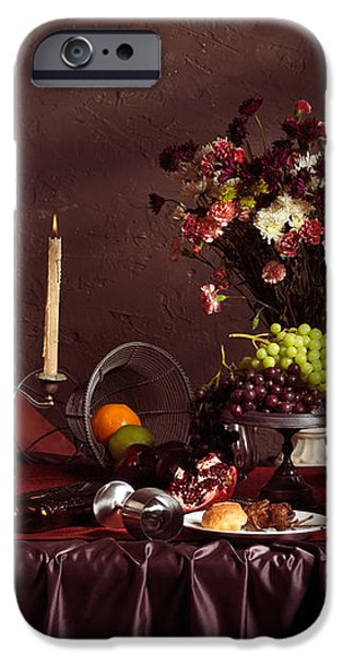 Artistic Food Still Life iPhone Case by Oleksiy Maksymenko