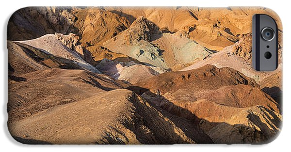 Artist Photographs iPhone Cases - Artists Palette Death Valley iPhone Case by Steve Gadomski