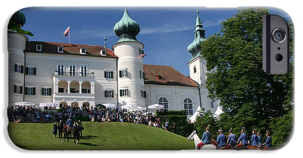 IPhone 6 Case featuring the photograph Artstetten Castle In June by Travel Pics