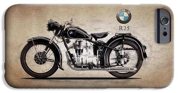 Bmw iPhone Cases - Bmw R25 iPhone Case by Mark Rogan