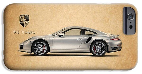 Transport iPhone Cases - Porsche 911 Turbo iPhone Case by Mark Rogan