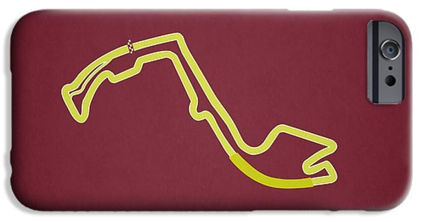 Circuit Photographs iPhone Cases - Circuit of Monaco iPhone Case by Mark Rogan