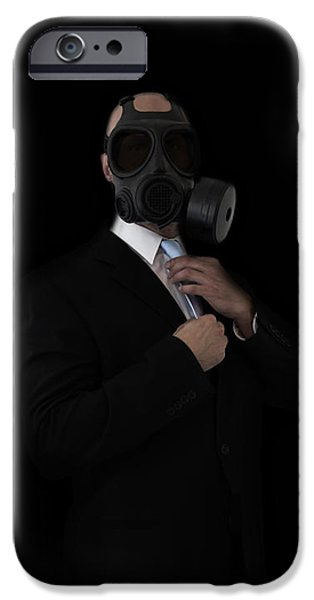 Business Mixed Media iPhone Cases - Apocalyptic Style iPhone Case by Nicklas Gustafsson