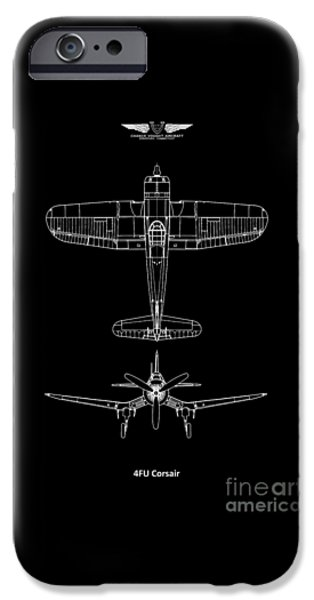 Flight iPhone Cases - The Corsair iPhone Case by Mark Rogan