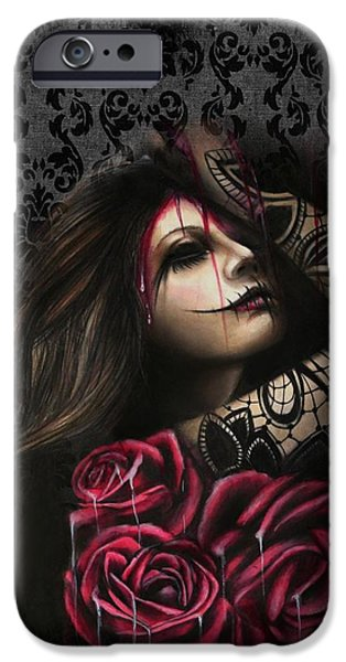 Frustration iPhone Cases - Despair iPhone Case by Sheena Pike